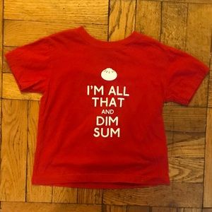 SALE!!! I'm all that and dim sum toddler t-shirt